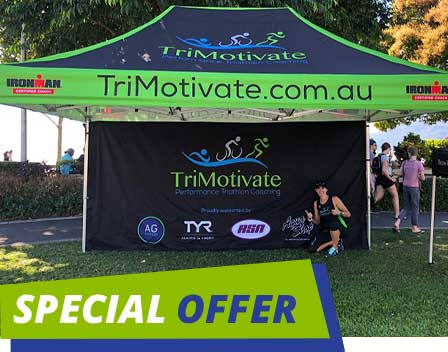Special Printed Marquee Offer
